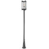 This item: Fallow Black One-Light Outdoor Post Mount