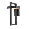 This item: Luttrel Black LED Outdoor Wall Sconce