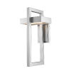 This item: Luttrel Silver LED Outdoor Wall Sconce