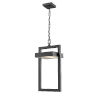 This item: Luttrel Black One-Light LED Outdoor Pendant