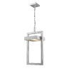 This item: Luttrel Silver One-Light LED Outdoor Pendant