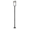 This item: Luttrel Black LED Outdoor Post Mount