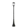 This item: Beacon Oil Rubbed Bronze Two-Light Outdoor Post Mounted Fixture