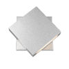 This item: Quadrate Silver LED One-Light Outdoor Wall Sconce With Sand-blast Glass