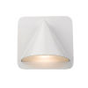 This item: Obelisk White LED One-Light Outdoor Wall Sconce With Sand-blast glass