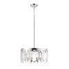 This item: Cormac Chrome Five-Light Chandelier With Transparent Crystal