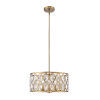 This item: Dealey Heirloom Brass Five-Light Chandelier With Transparent Crystal