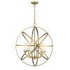 This item: Aranya Heirloom Brass Six-Light Chandelier
