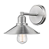 This item: Casa Brushed Nickel One-Light Bath Sconce