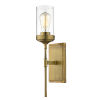 This item: Calliope Foundry Brass One-Light Wall Sconce