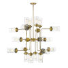 This item: Calliope Foundry Brass 20-Light Chandelier