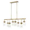 This item: Calliope Foundry Brass Eight-Light Island Pendant