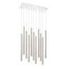 This item: Forest Stain Nickel LED 11-Light Mini Chandeliers