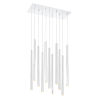 This item: Forest Chrome LED 11-Light Mini Chandeliers