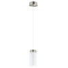 This item: Olvero Satin Nickel LED Mini Pendant with Frosted and Clear Glass Shade