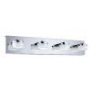 This item: Romendo Chrome Four-Light LED Bath Vanity