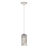This item: Estevau Satin Nickel Five-Inch One-Light Mini Pendant
