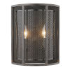 This item: Verona Oil Rubbed Bronze Two-Light Wall Sconce