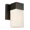 This item: Ciara Springs Oil Rubbed Bronze One-Light Wall Sconce