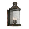 This item: San Mateo Creek Oil Rubbed Bronze Three-Light Outdoor Wall Sconce