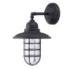 This item: Shipman Black One-Light Outdoor Wall Sconce