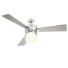 This item: Casou Brushed Nickel 52-Inch Ceiling Fan