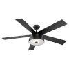 This item: Lestat Matte Black 52-Inch Ceiling Fan