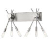 This item: Willsboro Silver Six-Light Bath Vanity
