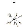 This item: Etris Row Black 10-Light Pendant