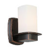 This item: Vlacker Oil Rubbed Bronze One-Light Wall Sconce