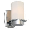This item: Vlacker Chrome One-Light Wall Sconce