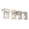 This item: Wolter Polished Nickel Four-Light Bath Vanity