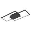 This item: Milanius Black 20-Inch LED Flush Mount