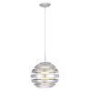 This item: Mercur 1 Silver One-Light Pendant