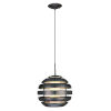 This item: Mercur 1 Black One-Light Pendant
