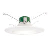 This item: White Seven-Inch 4000K LED Recessed Retrofit Trim