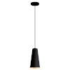 This item: Pratella 1 Black and Gold One-Light Pendant