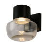 This item: Belby Black Seven-Inch LED Wall Sconce