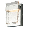 This item: Madrona Silver LED Outdoor Wall Sconce