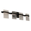 This item: Madrona Black Four-Light LED Bath Vanity