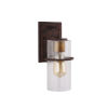 This item: Brandel Rust Six-Inch One-Light Outdoor Wall Sconce