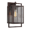 This item: Garraux Rust Nine-Inch One-Light Wall Sconce