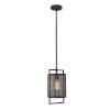This item: Garraux Rust One-Light Pendant