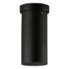 This item: Tortoreto Black Nine-Inch One-Light Flush Mount