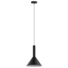 This item: Canalello Black and White 12-Inch One-Light Pendant