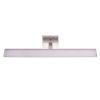 This item: Tabiano Silver Three-Light LED Bath Vanity