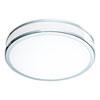 This item: Palermo 2 Chrome and White LED Flush Mount
