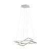 This item: Tamasera Silver 16-Inch 40W LED Pendant