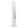 This item: Barbotto Matte White and Silver LED Table Lamp