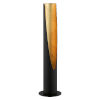 This item: Barbotto Matte Black and Gold LED Table Lamp